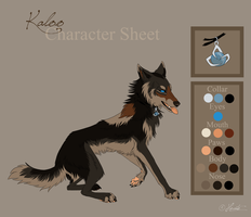 Kaloo Character Sheet - Commission by hecatehell