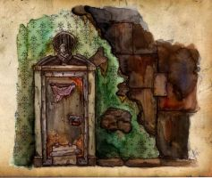 Tree house by jjeeaann on deviantart - Several artistic concepts for main door ...