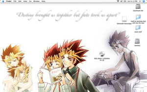 Yami and Yugi desktop by GozenYuji