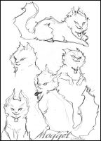 Mogget Sheet by lberghol