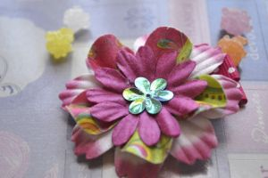 Flower Hair Clip Product Photography by blueangel06661