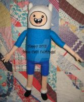 Needle Felted Finn by CatsFeltLings
