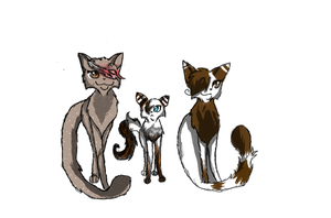 Twd Oc's (cat version) by FloppyNinjaPower