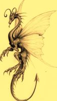Dragon Butterfly by Bazted