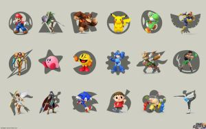 Super-smash-bros-wiiu-wallpaper-game-maker by gqbmn