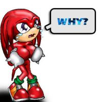 Knuckles the... Femmechidna? by BishounenStalker