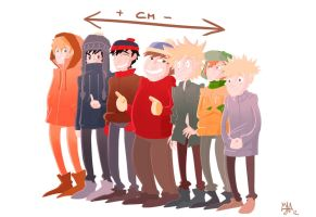 South Park - centimeters by Joxem