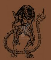 Predalien ball point by AstroZerk