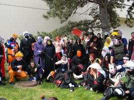 Naruto Group 5 - ACen 2013 by EndOfGreatness