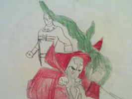 spawn and miracleman w.i.p by ermacisback
