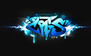 Wallpaper graffiti style: Cris by Crisinaction
