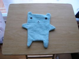 Green Baby Towel by unusual-filament