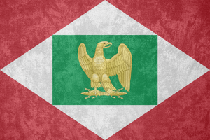 Kingdom of Italy ~ Grunge Flag (1805 - 1814) by Undevicesimus
