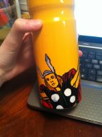 Thor on a bottle by timonlover123