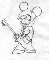 King Mickey rough by Jetricson