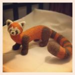 Needle felted Pabu by Luthie13