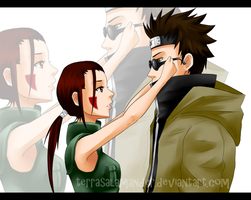 Request: Shino x Hana by terrasalamander