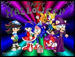Sonic Halloween by nina06