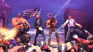Saints Row 4 in TF2 style by P0nyStark