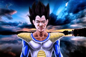 Vegeta by ShaneGreer