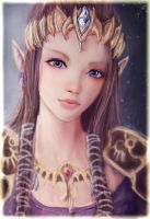 Princess Zelda by S1ghtly