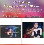 My Cosplay Comparison Meme by DanteVergilLoverAR