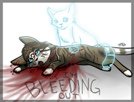 ~Bleeding Out~ by little-space-ace