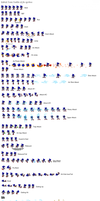 Metal Sonic Sprites Sheet by Sonic8546