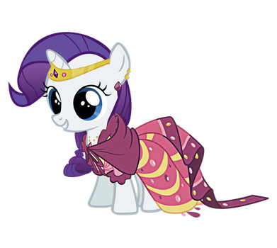 At the Grand Galloping Gala with filly Rarity by Rarity6195