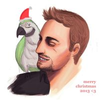 derren brown. merry xmas by quietandblue