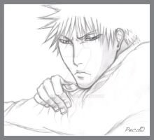 Emo Ichigo drawing by peca06