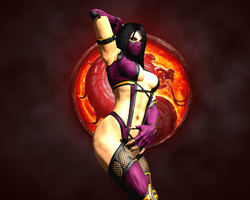 Mileena, the Sexy Banshee by LordHayabusa357