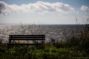 Bench on the Edge by steverankin