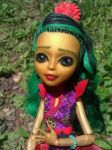 Jina Fire Custom Monster High Repaint by AdeCiroDesigns