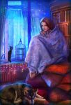 cozy night by Nneila