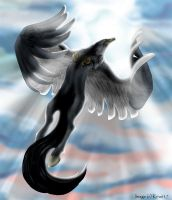 Buckbeak--Broken Wings by kira617