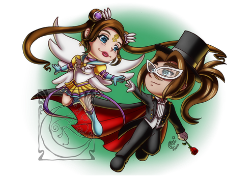 CM - Auri and Varian by LadyRosse