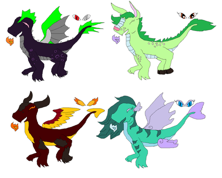 Dragon Adopts! by MyLittleParakeet
