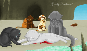 Feathertails Dead in MSPaint with Speedpaintvideo by chocobeery