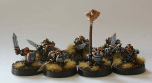 15mm Scale Dwarf Sculpts by SpaceCowSmith