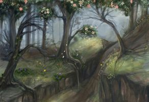 Spring, Waning by issique