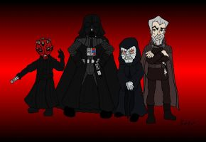 Sith Lords - Movies by Shapshizzle