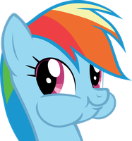 Rainbow Dash Vector by NecronomiconOfGod