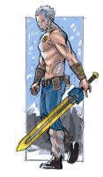 Sketchdrive: Beowulf by PencilInPain