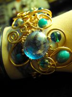 Oceanic Copper Cuff by CleverLittleThings