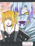 Death Note  Amane Misa  Shinigami Rem by LaBelleEsmeralda