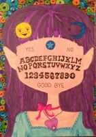 Ouija Girl Surreal Abstract Wicca Art by ArtAgainstSociety