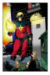 Captain Marvel Large Print by Areophile