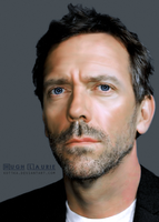Hugh Laurie by Kot1ka