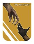Rocket and Groot hands by wannabegraphicartist